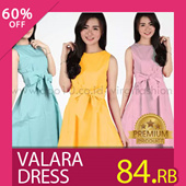 NEW COLOR!Premium Quality Valara Dress and Laura Dress_Fit Size S-L besar_100% Cotton_Trend Fashion_Dress Wanita / Womens Dress / Pakaian Wanita