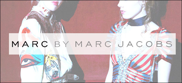 MARC BY MARC JACOBS  アイテム特集