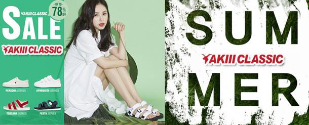 AKIIICLASSIC 韓国ファッション大人気ブランドスニーカー