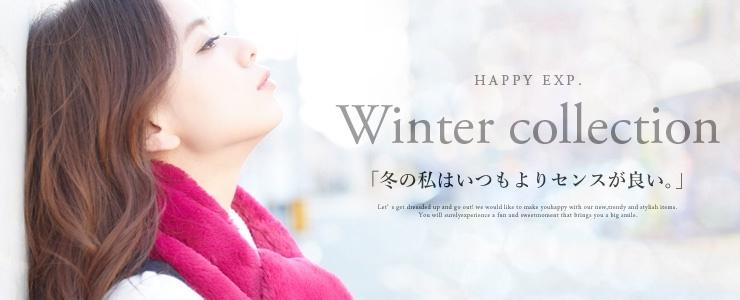 【Happy急便】Winter collection★新作アイテム続々追加中!!