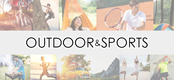 Sports Outdoor Goods 流行先取りキャッチ!