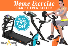 Burn Calories with our exercise equipment