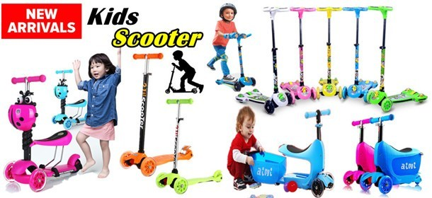 3/4 Wheels Kids Scooter