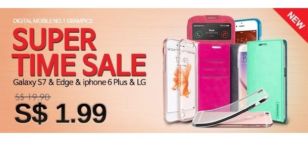 [Super Time Sale] SAMSUNG Galaxy S7&Edge ★ iPhone 6s plus LG Casing