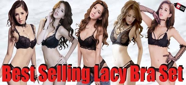 New Arrival Magic Lace Bra Set, Sexy & Attractive Design On Crazy Sale!