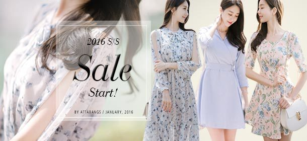2016 S/S Sale start !!