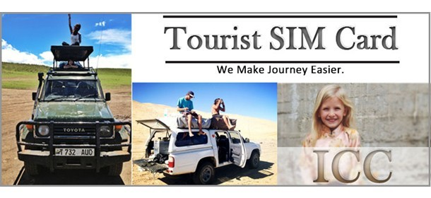 Tourist SIM Card + Free SIM Card Adapter