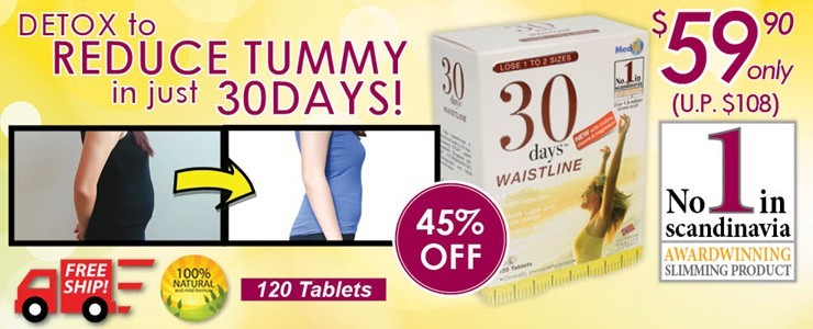 No.1 Slimming Products in Scandinavia!!
