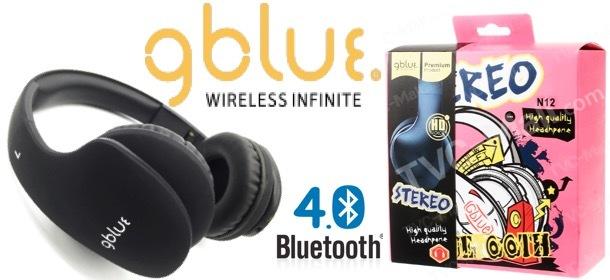 Gblue N12 Stereo Bluetooth Foldable Headphone