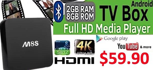 M8S KODI Android TV Box