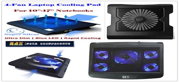 Laptops 14-15.6 inch laptop fan notebook cooler
