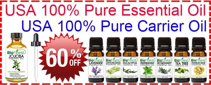 BioFinest™ 100% Pure Essential Oils and Carrier Oils