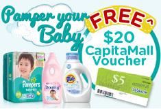 FREE $20 GIFT VOUCHER & BABY TOY!!!!