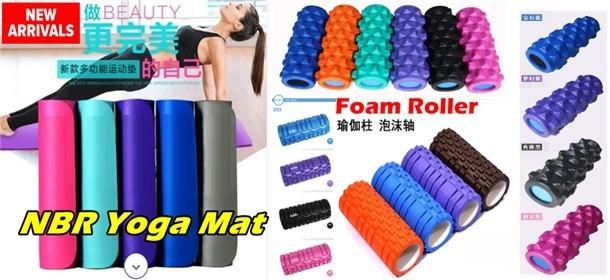 Foam Roller & NBR Yoga Mat