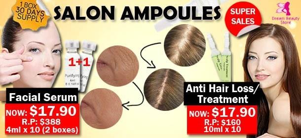 Salon Ampoules Super Sales