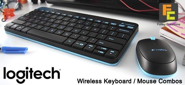 Logitech Wireless Keyboard  / Mouse