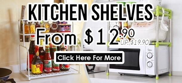 Kitchen Shelf Promotion