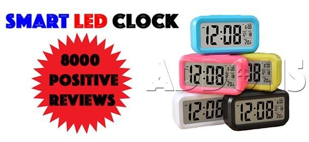 Smart LED Clock Number 1 Seller