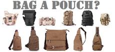 Versatile bags and pouches  multi-purpose!