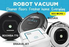 Robotic Cleaner U.P 50% Discount