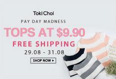 TokiChoi - $9.90 Tops +Free Shipping
