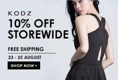 KODZ: 10% Off  + Free Shipping