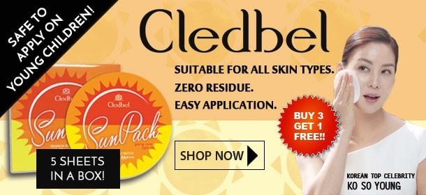 Cledbel Korea No. 1 Sunpack!