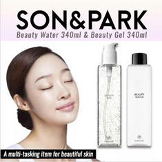 【GET IT BEAUTY】 BESTSELLER IN KOREA! 【SON AND PARK】 BEAUTY WATER 340ML/500ML and Miracle Beauty Gel 340ML