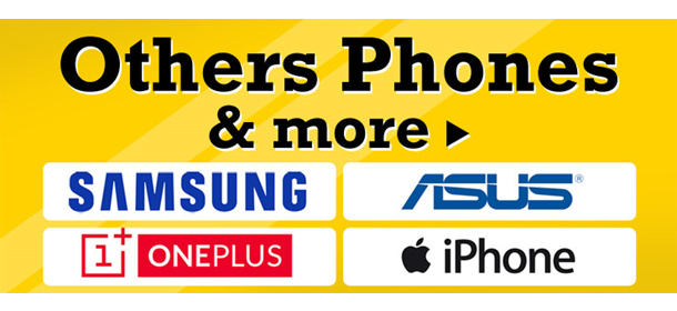 Samsung Phones and Others (Export Set)