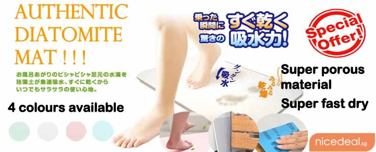 Newest & Hottest Item Japan Diatomite Mat