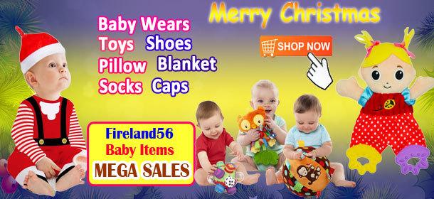 Fireland56 Xmas Baby Items, Danrol Brand Romper