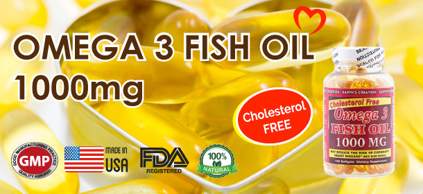 Cholesterol Free Fish Oil