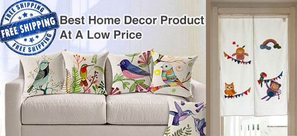 Best Home Product at Low Price,Cushion,TableRunner,Tablecloth,Curtains and More