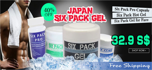 2015 RESTOCKED! Japan Six Pack Ice Age Gel☆