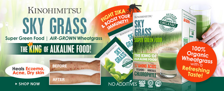 *Certified Organic* Wheatgrass to Save Your Body & Skin!