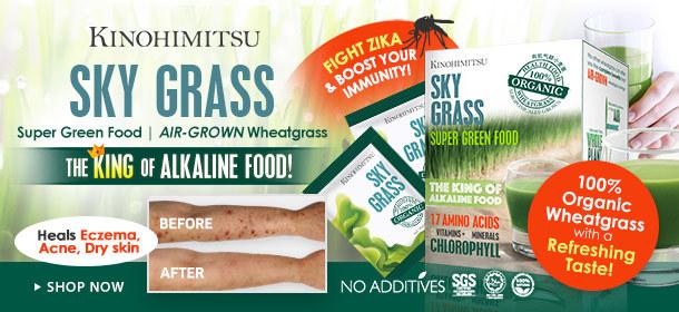 *Certified Organic* Wheatgrass to Save Your Body & Skin!