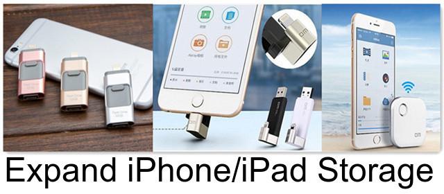 Apple iFlash Drive - Expand iPhone/iPad Memeory
