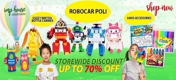 Robocar Poli and Amos