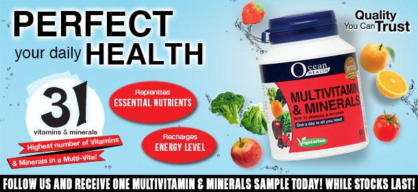 [GIVEAWAY!] Ocean Health Multivitamin & Minerals
