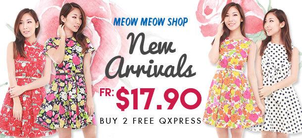 MEOW MEOW SHOP ★PRINTED DRESSES