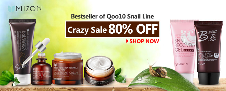 No.1 of Qoo10 SNAIL LINE
