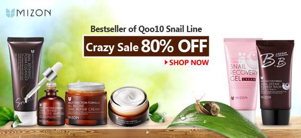 No.1 of Qoo10 SNAIL LINE