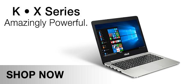 Asus K & X Series Laptop Range