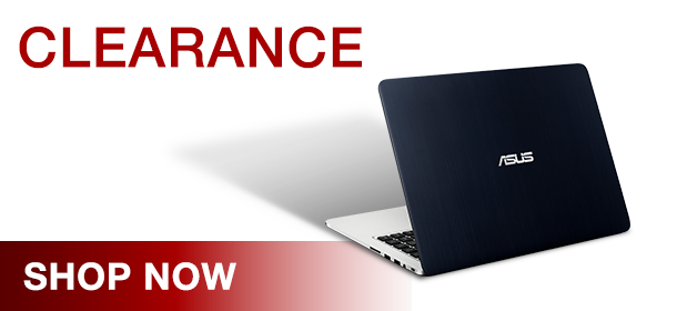 Asus Clearance Laptop Range