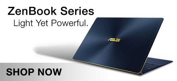 Asus Zenbook Laptop Range