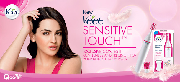 New Veet Sensitive Touch