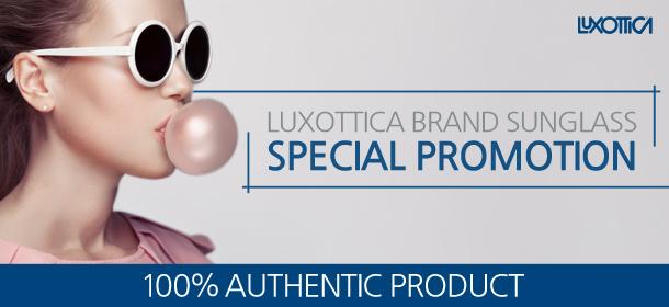 LUXOTTICA Branded Sunglasses