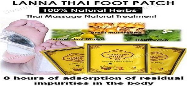 Lanna Thai Foot Patch