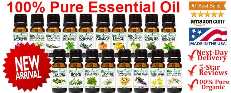 50+ New Arrivals ★BioFinest 100% Pure Essential Oil