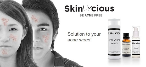 BE ACNE FREE - SKINLYCIOUS